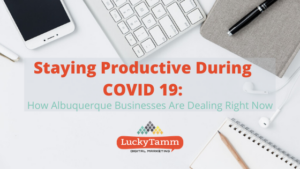 staying productive during COVID-19